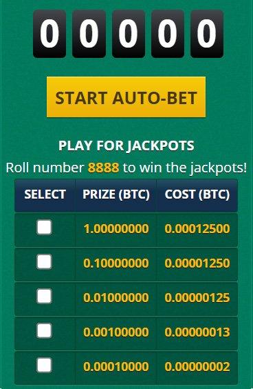 Multiply BTC Jackpot